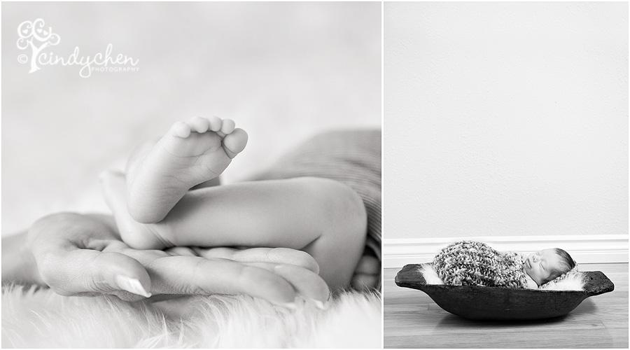 modern lifestyle newborn photography