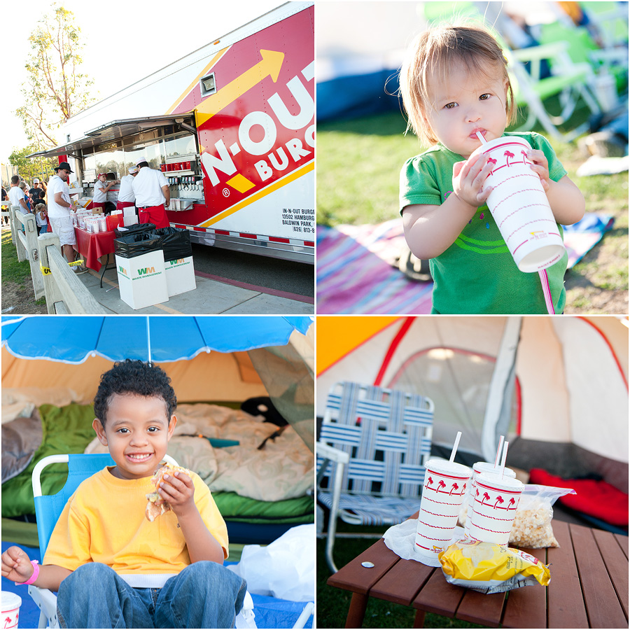 2010 family campout in chaparral park