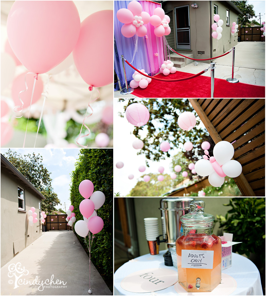4 Year Old Princess Birthday Party Decorations And Details